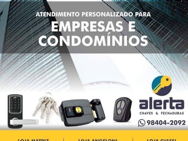 CHAVEIRO ALERTA E CARIMBO – CHAVE CODIFICADO EM JARAGUÁ DO SUL