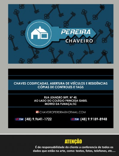 Chaveiro Pereira – CHAVEIRO NO BAIRRO ESPERANÇA NO MORRO DA FUMAÇA